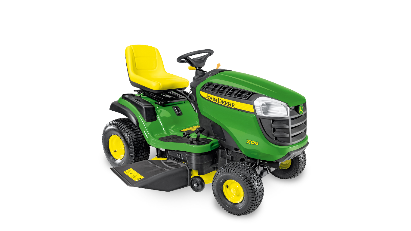 X126 Riding Lawn Equipment